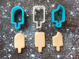 Popsicle Cookie Cutter Set with Cookie