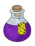 Potion Bottle Two Cookie Cutter