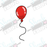 Red Balloon Cookie Cutter