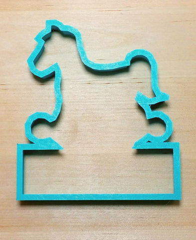 Rocking Horse PYO Cookie Cutter Top