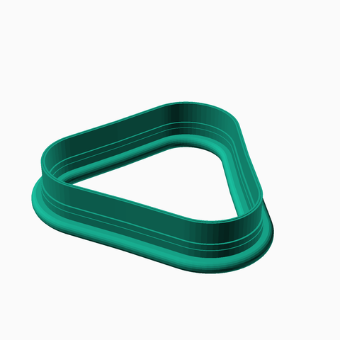 Rounded Triangle Cookie Cutter