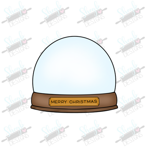 Snowglobe 2 Cookie Cutter