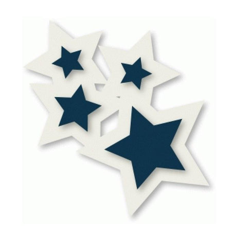 Star Cluster Cookie Cutter