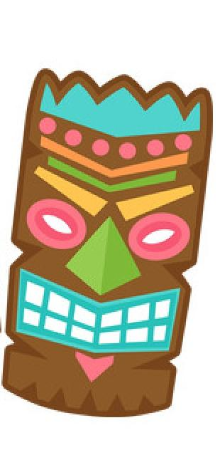 Tiki Mask Cookie Cutter