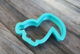 Tropical Toucan Cookie Cutter Side Angle