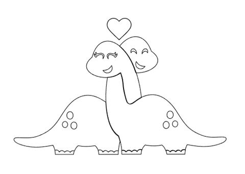 You Make My Heart Saur Cookie Cutter