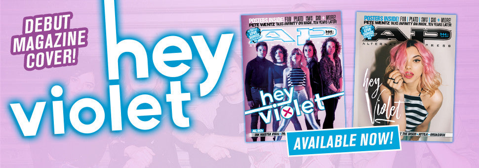 Welcome Hey Violet to the cover of AP!