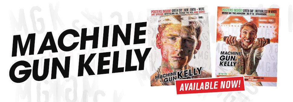 Welcome Machine Gun Kelly to the cover of AP!