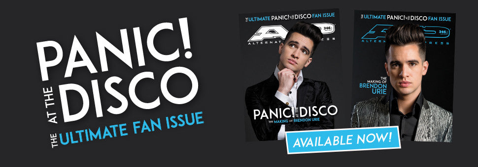 Welcome Panic! At The Disco to the cover of AP!
