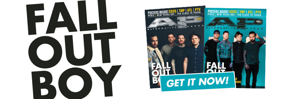 Welcome Fall Out Boy to the cover of AP!