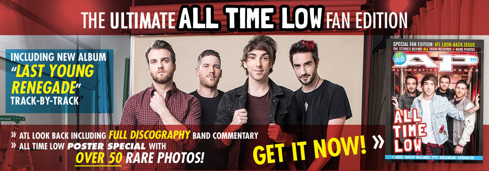 Welcome All Time Low to the cover of AP!
