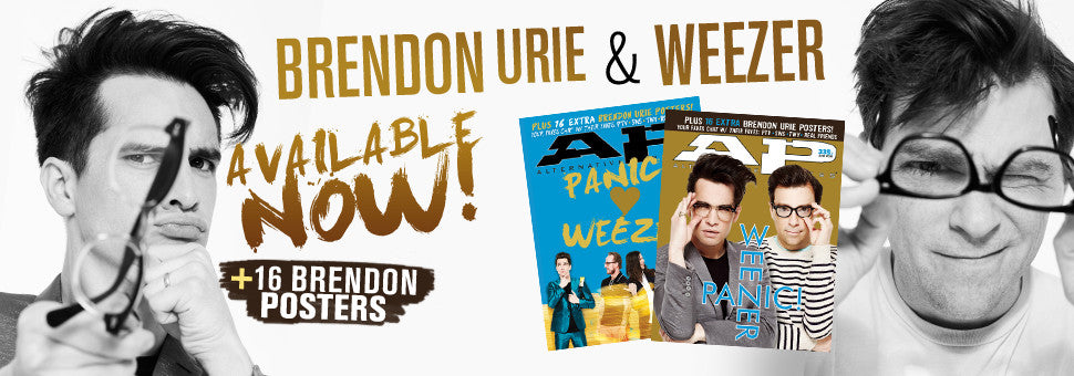 Welcome Panic! At The Disco and Weezer to the cover of AP!