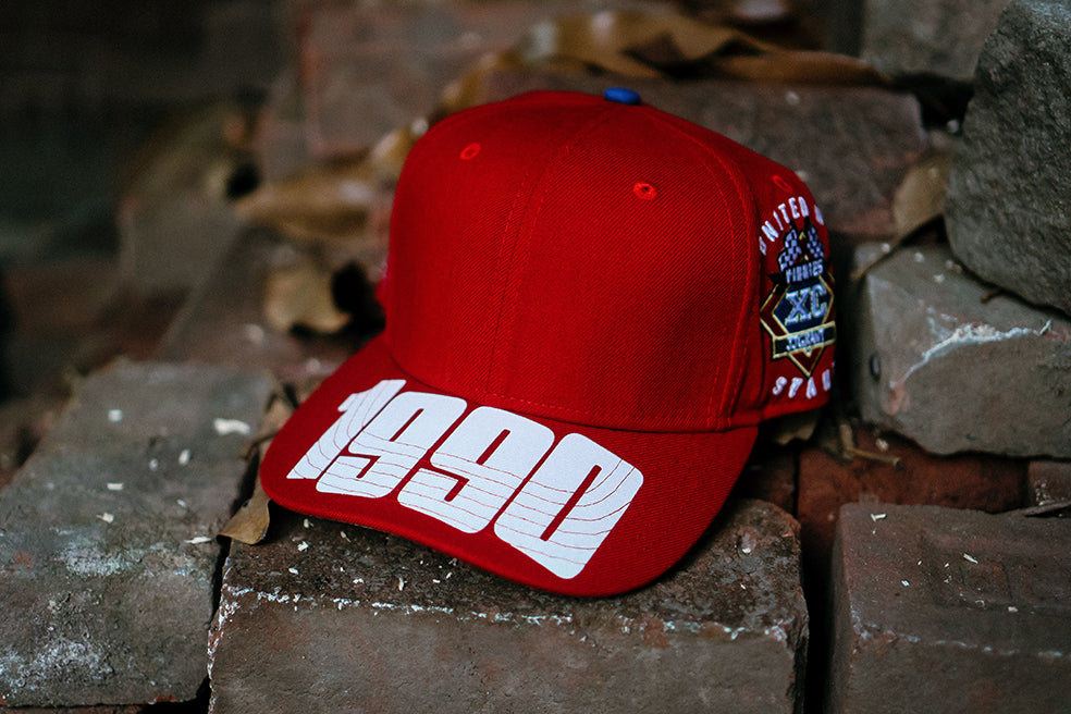90's ERA HAT (RED)