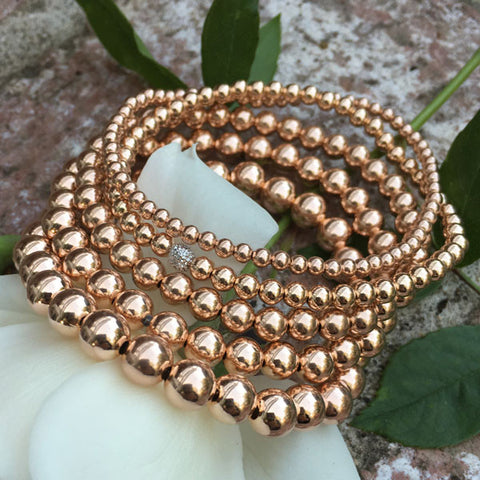 fine jewelry stretch bead bracelets