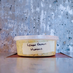 Lemon + Roasted Garlic Hummus 250ml