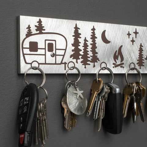 Magnetic key holders with 5 super strong magnet points.