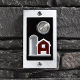 Around the Farm doorbell in aluminum finish