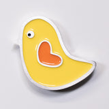 Bird Magnet Yellow