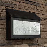Bird Lovers Wall Mount Mailbox