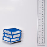 Book Stack Magnet Blue