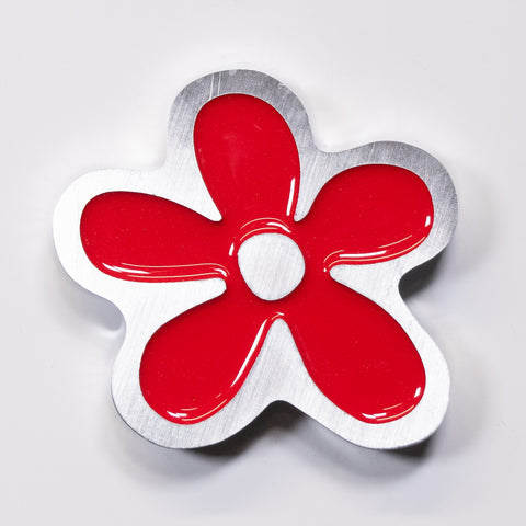 Daisy Magnet Red