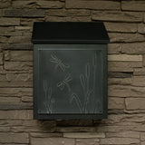 Dragonfly Wall Mount Mailbox