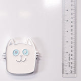 Cat Magnet White