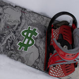 Dollar Sign Snowboard Stomp Pad
