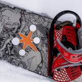 Sputnik Snowboard Stomp Pad Orange