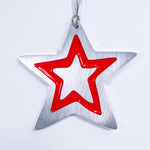 Star Christmas Ornament Red