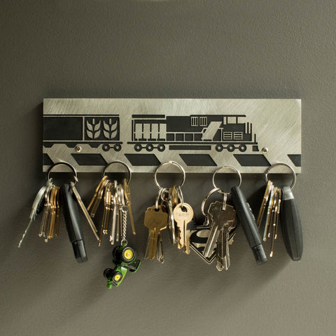 Freight Train Magnetic Key Holder