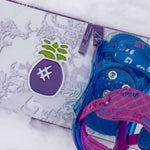 Pineapple Snowboard Stomp Pad Purple