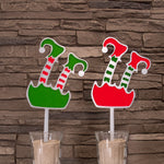 Christmas Elf Garden Art