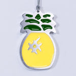 Pineapple Christmas Ornament Yellow