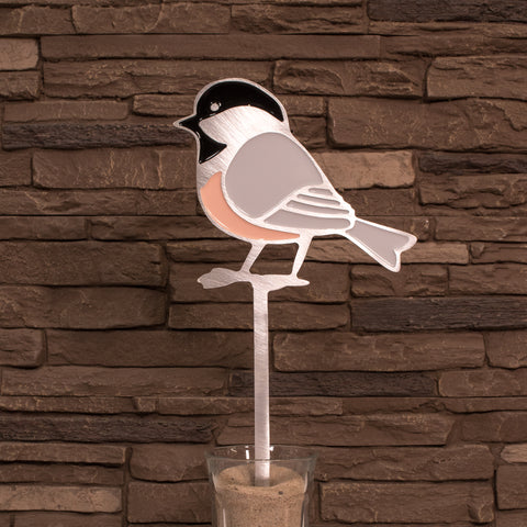 Chickadee Garden Art