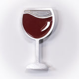 Red Wine Magnet