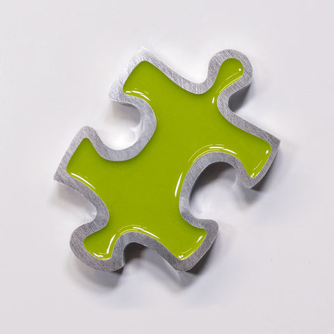 Puzzle Magnet Green