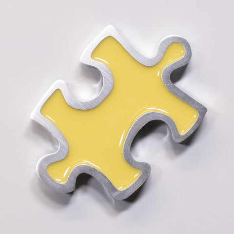 Puzzle Magnet Yellow