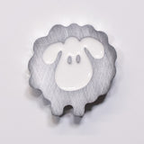 Sheep Magnet White