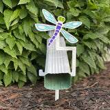 Dragonfly Downspout Holder