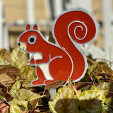 Squirrel Garden Art