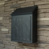 Birch Tree Wall Mount Mailbox