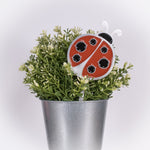 Ladybug Planter Poke Orange