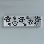 Paw Print Magnetic Key Holder