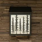 Sitka Spruce Wall Mount Mailbox
