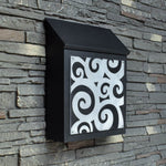 Abstract Spiral Mailbox
