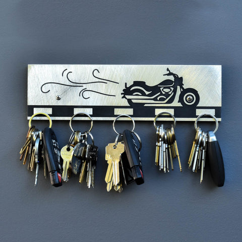 Motorcycle Magnetic Key Holder