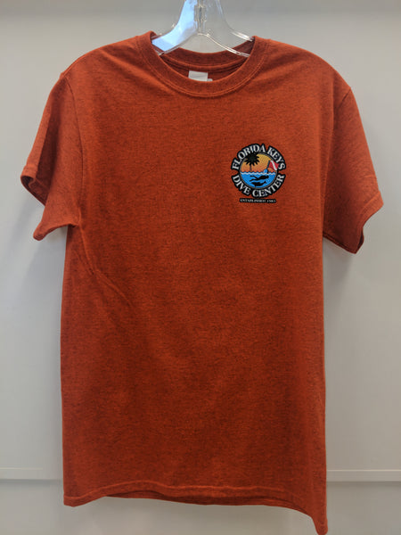 Antique Orange FKDC Logo Short Sleeve Shirt