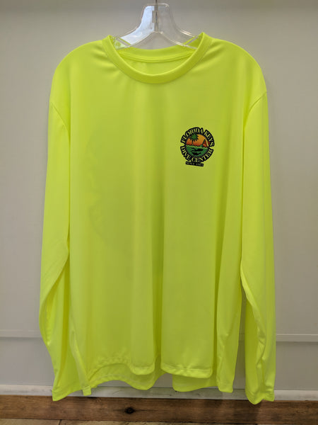 Tribal SPF Shirt Neon Yellow