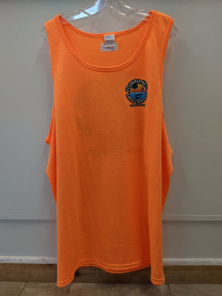 Neon Orange FKDC Logo Tank Top